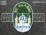 Turkistanische Volunteer's Sleeve Shield 1st pattern