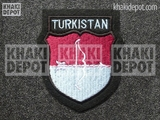 Turkistanische Volunteer's Sleeve Shield 2nd pattern