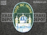 Turkistanische Volunteer's Sleeve Shield 3rd pattern